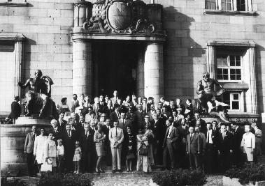 Congrès de la Parapsychological Association à Freiburg, 1968