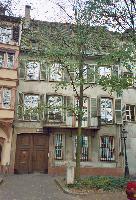 L'endroit où Bender installa son Institut de Psychologie Clinique, au 2 quai St-Nicolas à Strasbourg, © Josef Fuckerieder, Freiburg i.Br.-Kehl