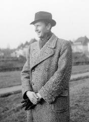Hans Bender, photo à Freiburg dans l'après-guerre, © IGPP
