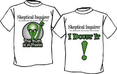 Tee-shirts en vente sur www.csicop.org