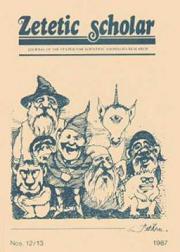 Couverture du Zetetic Scholar n°12-13, 1987